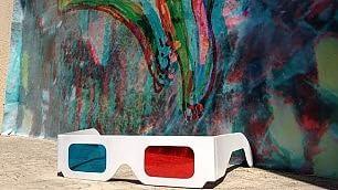 Per il graffito servono gli occhiali Street art 3D, prima volta in Italia