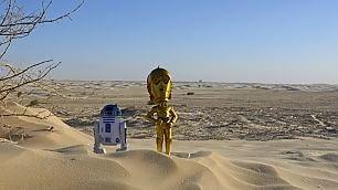 Ritorno a Tatooine  -   trailer    sul set del nuovo Star Wars