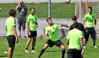 """Verona, Toni: """"Che coppia con Pazzini, aspettiamo le partite vere"""""""