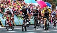 Giro di Polonia, Pelucchi bis Vince anche la terza tappa