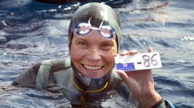 Foto  Apnea, paura per la Molchanova scomparsa durante immersione   video