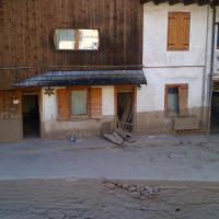 Frana Cadore: i danni alle case, tetti scoperchiati e fango tutt'intorno