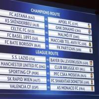 Champions, sorteggio preliminari: per la Lazio c'è il Bayer Leverkusen