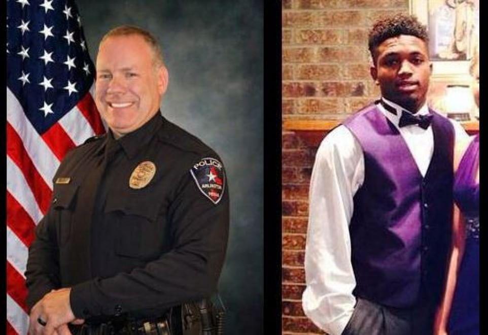 Usa, agente bianco uccide afroamericano 19enne: le foto di Chris Taylor