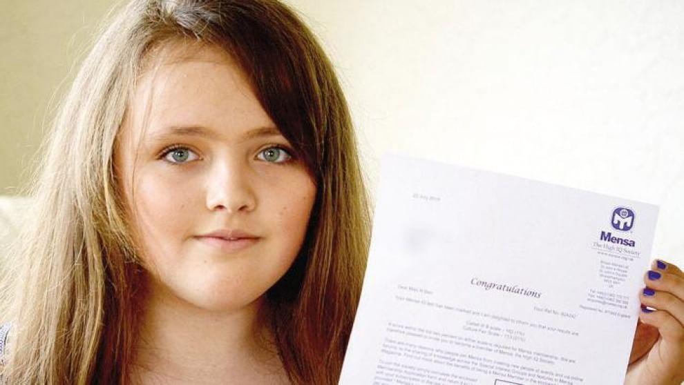 Nicole, la 12enne più intelligente di Einstein vive in una roulotte