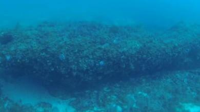 Trovato nel Canale di Sicilia  monolite di 9500 anni fa   Foto