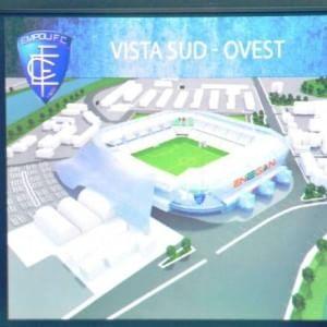 Empoli, nuovo 'Castellani': progetto da 11 milioni, pronto in due anni