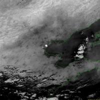 Cina, l'esplosione vista dal satellite