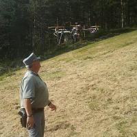 Droni come ufo? Per gli animali è così