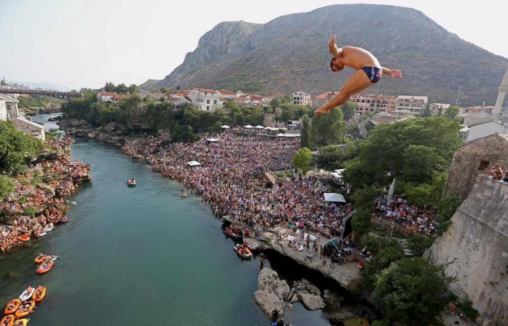 Red Bull Cliff Diving, le World Series 2015 fanno tappa a Mostar