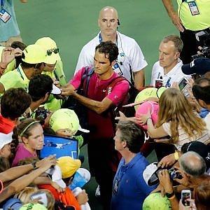 Tennis, Cincinnati: Federer al terzo turno, ancora un forfait per la Sharapova