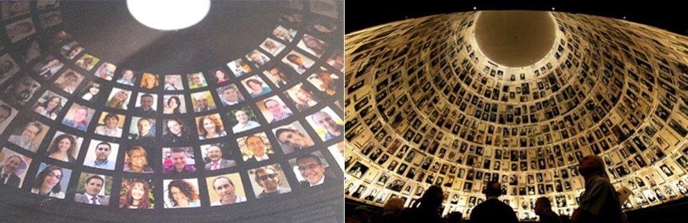 """British Telecom Italia, il suo Pantheon copia il Memoriale della Shoah. Comunità ebraica: """"Gaffe"""""""