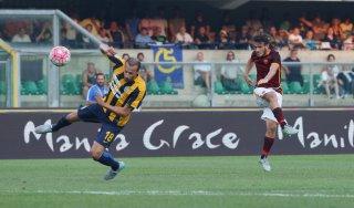 Verona-Roma 1-1: Florenzi risponde a Jankovic, giallorossi sottotono