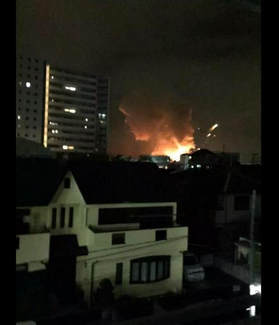 Giappone, esplosione nella base militare americana a Sagamihara