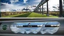 """Supertreno Hyperloop, """"in viaggio a 1500 kmh"""". Tra un anno il via ai test"""