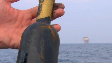 Vino, la cantina è a 40 metri sotto il mare