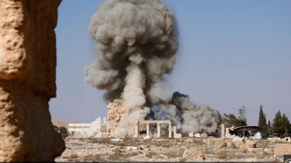 Siria, distruzione tempio Baal Shamin: l'esplosione