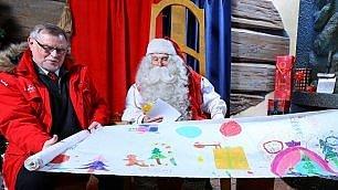 Santa Claus: 'Non fallisco'.   vd