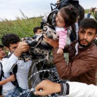"""Migranti, Merkel a Heidenau: """"Vigliacco chi attacca i profughi"""""""