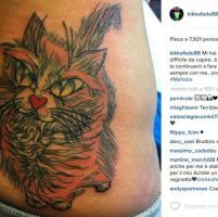 """Federica Pellegrini, un tatuaggio per la gatta Mafalda: """"Ti ho amato alla follia"""""""