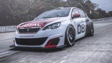 Peugeot 308 Racing Cup a quota 308 cavalli -  Foto