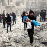 Siria, a Londra si simula un'emergenza che induce a fuggire, come ad Aleppo