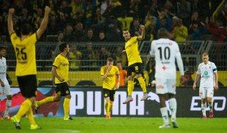 Europa League, Dortmund a valanga. Esce il Southampton