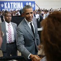 """Katrina, Obama a New Orleans: """"Fu un disastro degli uomini, non della natura"""""""