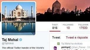 Taj Mahal, icona che cinguetta