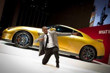Una Supercar tutta d'oro per Usain Bolt: andrà all'asta per beneficenza