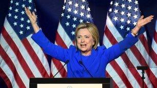 E Hillary Clinton: 'I miei sono veri'