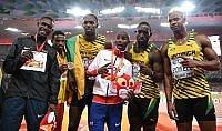Farah vince anche i 5.000 Bolt, arriva il terzo oro