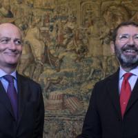 "Il Vaticano: ""Piena fiducia in Gabrielli"". Marino ancora in ferie, tornerà a metà..."
