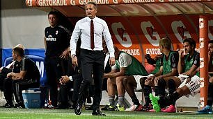 """Il Milan batte l'Empoli 2-1   Ma Mihajlovic : """"Come un ko""""  Balotelli, niente esordio -   foto"""