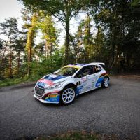 Andreucci e Andreussi su Peugeot 208 T16 re del Tricolore Rally 2015