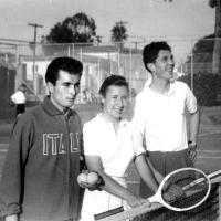 Merlo e le lezioni di tennis a casa Charlot