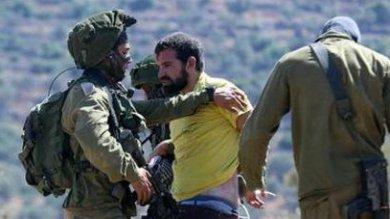 Attivista italiano arrestato   video   da esercito Israele in Cisgiordania -   foto