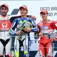 MotoGp, Silverstone: tre italiani sul podio