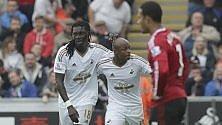 Primo ko per lo United lo Swansea resta tabù   Dortmund  sempre primo