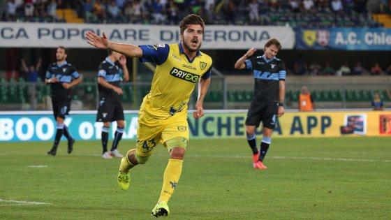 Chievo-Lazio 4-0, crollo biancoceleste. Meggiorini e Paloschi spingono Maran in testa