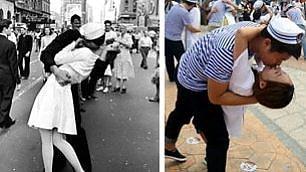 Shanghai Kiss: 70 anni dopo 70 coppie replicano storico bacio