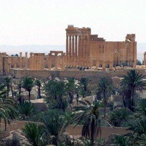 Siria, Is distrugge tempio di Bel a Palmira