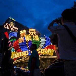 La crisi dei Casinò fa crollare il Pil di Macau