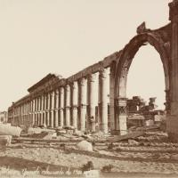 Siria, i tesori di Palmira nelle foto di fine '800