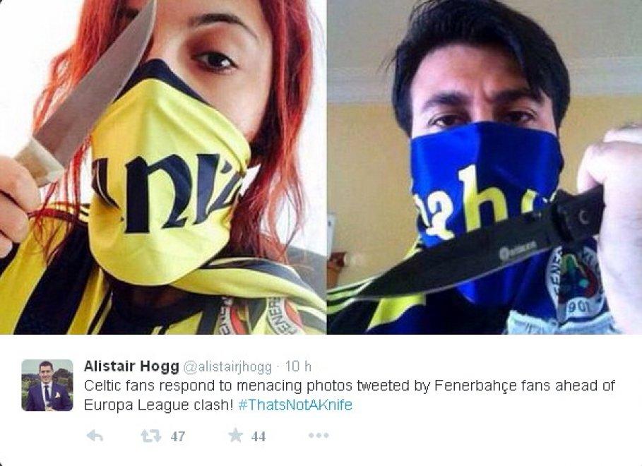 Europa League, tifosi del Fenerbahçe minacciano quelli del Celtic. Risposta geniale degli scozzesi