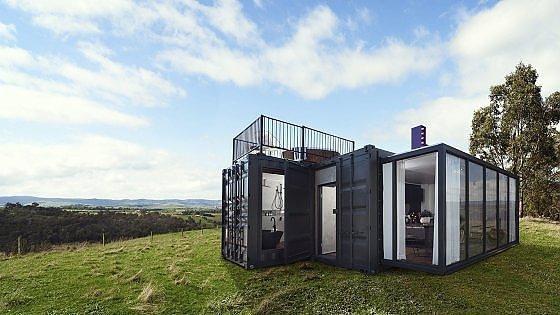 Australia turismo estremo nell 39 hotel container di lusso for Container house prezzi