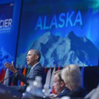 """Obama in Alaska: """"Subito riduzione dei gas serra, o la Terra sarà a rischio"""""""