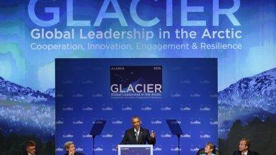 "Obama in Alaska: ""Subito riduzione dei gas serra, Terra sempre più a rischio"""