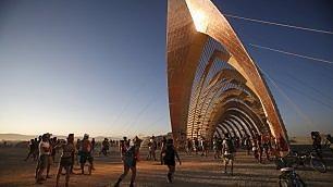 Un'oasi di creatività nel deserto In Nevada il festival Burning Man