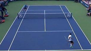 Robredo, gran colpo alla Federer